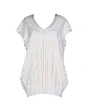 Короткое платье NEERA. Цвет: слоновая кость