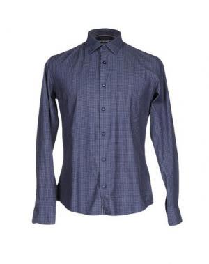 Джинсовая рубашка AT.P.CO. Цвет: грифельно-синий
