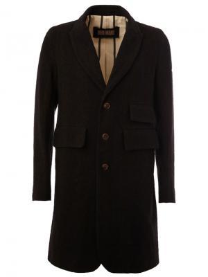 Классическое пальто Uma Wang. Цвет: чёрный