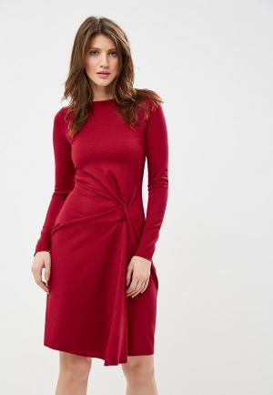 Платье Devore. Цвет: бордовый