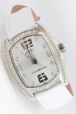 Часы наручные Chronotech. Цвет: белый