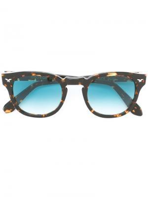 Солнцезащитные очки George Kyme. Цвет: чёрный