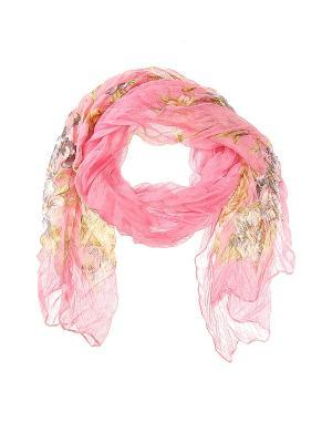 Платок Migura. Цвет: розовый, зеленый, коричневый
