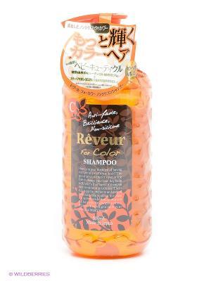 Шампунь Reveur For Color. Для окрашенных волос 500 мл. Цвет: оранжевый
