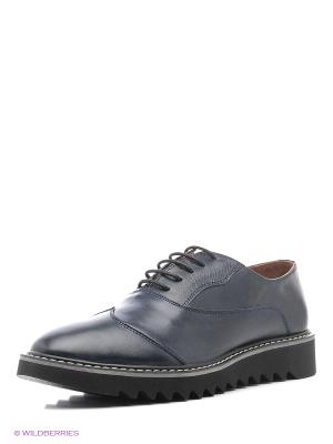 Мужские ботинки Dino Ricci. Цвет: синий