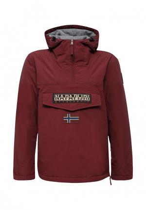 Куртка утепленная Napapijri. Цвет: бордовый