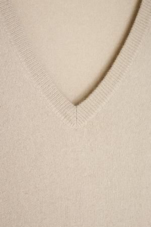 Кашемировое платье MYONE. Цвет: бежевый