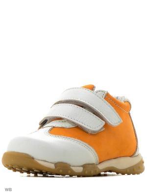Кроссовки Ronnon. Цвет: белый, оранжевый