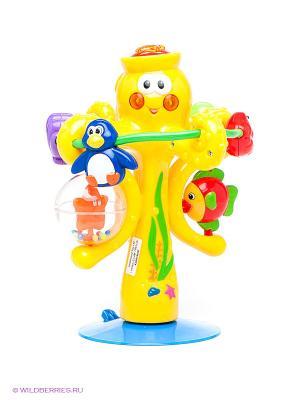 Игрушка Осьминог Kiddieland. Цвет: желтый