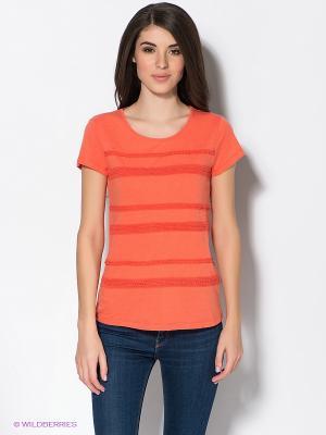 Футболка Baon. Цвет: оранжевый