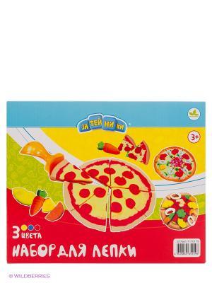 Набор для лепки Пицца, с формочками ЗАТЕЙНИКИ. Цвет: красный
