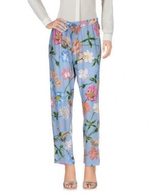 Повседневные брюки 19.70 NINETEEN SEVENTY. Цвет: небесно-голубой
