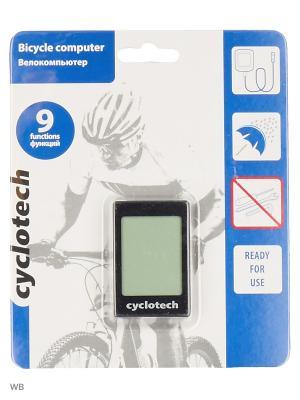 Велокомпьютер Cyclotech. Цвет: черный