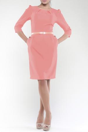 Платье Dioni. Цвет: темно-персиковый