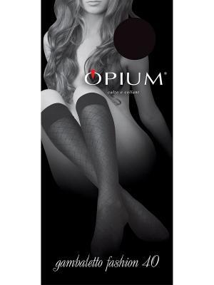 Гольфы OPIUM. Цвет: черный