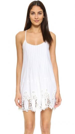 Плиссированное платье Ganesha LIV. Цвет: белый