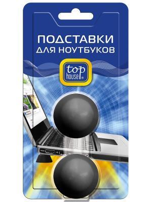 Top house подставки для ноутбуков, комплект 2 шт. Цвет: синий