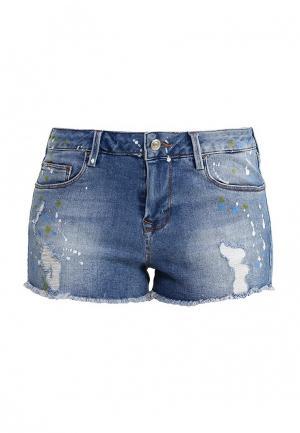 Шорты джинсовые adL. Цвет: синий