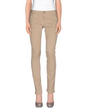 Повседневные брюки SIVIGLIA. Цвет: бежевый