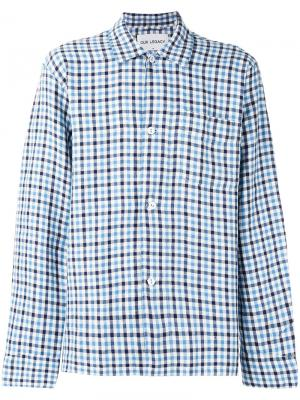 Рубашка Clubcheck Our Legacy. Цвет: синий