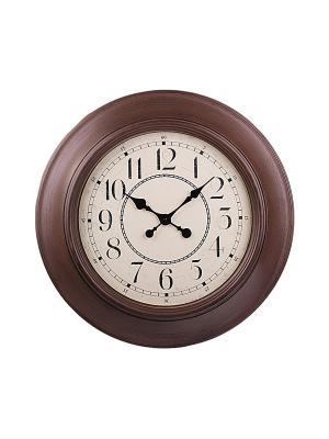 Часы настенные PATRICIA. Цвет: коричневый