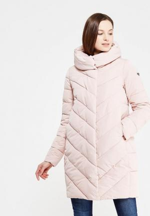 Куртка утепленная Grishko. Цвет: розовый