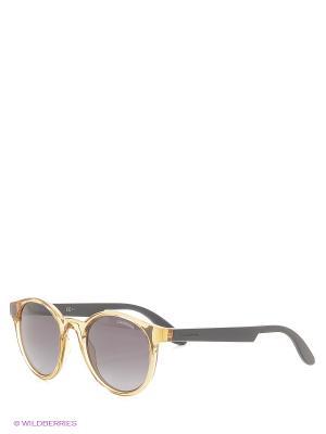 Солнцезащитные очки CARRERA. Цвет: прозрачный, светло-оранжевый, черный