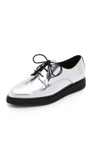 Ботинки на шнурках Wynn толстой мягкой подошве Opening Ceremony. Цвет: голубой