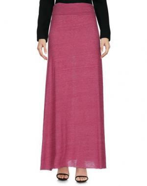 Длинная юбка ALTERNATIVE EARTH. Цвет: пурпурный