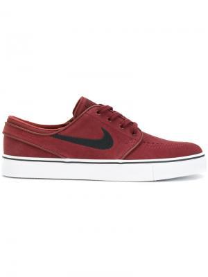 Stefan Janoski Skate sneakers Nike. Цвет: красный