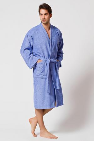 Халат U.S. Polo Assn.. Цвет: синий