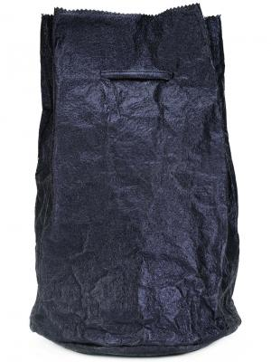 Рюкзак на шнурке Zilla. Цвет: синий