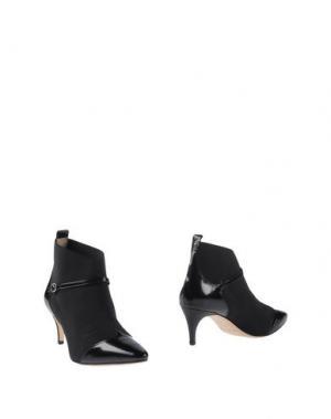 Полусапоги и высокие ботинки DANIELE ANCARANI. Цвет: черный