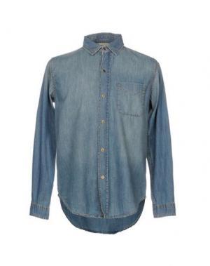 Джинсовая рубашка CURRENT/ELLIOTT. Цвет: синий