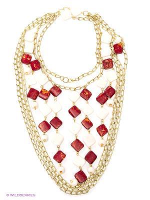 Ожерелье ГАНГ. Цвет: золотистый