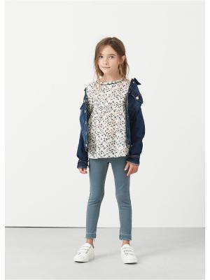 Блузка - ROBIN Mango kids. Цвет: светло-бежевый