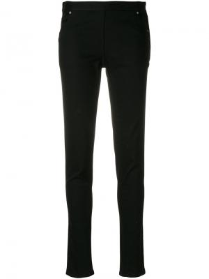 Эластичные брюки Chalayan. Цвет: чёрный