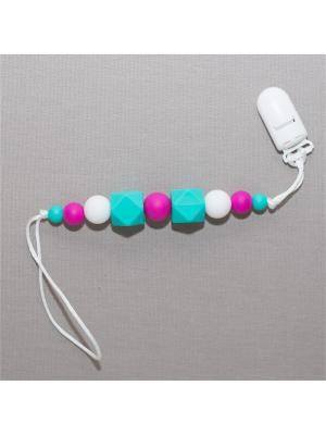Игрушка-подвеска Краски лета. Цвет: бирюзовый, белый, малиновый