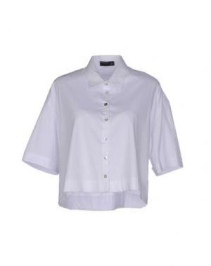 Pубашка SIMONA MARTINI. Цвет: белый