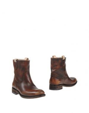 Полусапоги и высокие ботинки SMITH'S AMERICAN. Цвет: коричневый