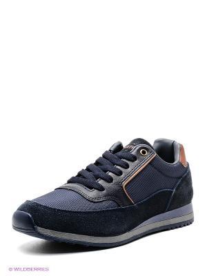 Кроссовки UN1TA. Цвет: темно-синий