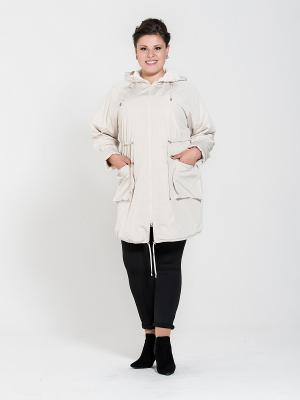 Куртка Silver-String. Цвет: бежевый