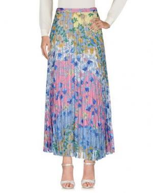 Длинная юбка DONDUP. Цвет: розовый