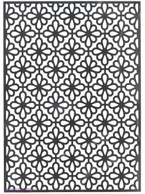 Трафарет для тиснения металлический ЦВЕТЫ-4 Fancy Creative. Цвет: фиолетовый