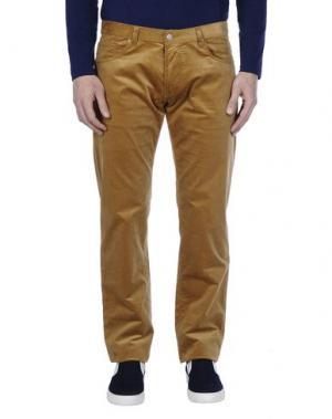 Повседневные брюки RICHARD JAMES. Цвет: верблюжий