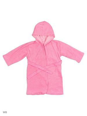 Халаты банные КВК. Цвет: розовый