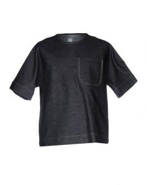 Джинсовая рубашка E. TAUTZ. Цвет: синий