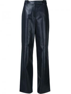 Широкие брюки Maison Ullens. Цвет: синий