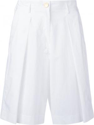 Короткие брюки Forte. Цвет: белый