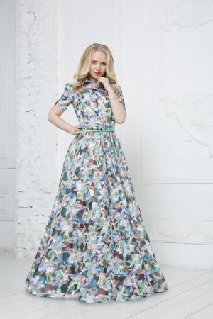 Платье To Be Bride. Цвет: мультиколор